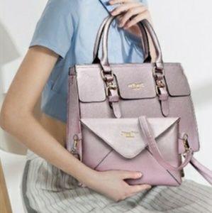 Handbags - Purse ( Baby pink )